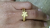 Manyring goldplated